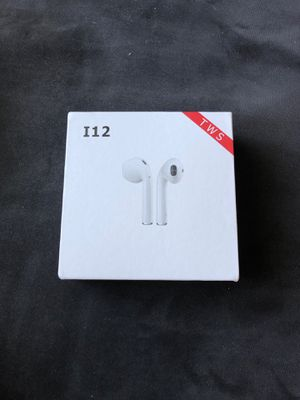 i12 TWS airpods Bluetooth wireless touch controls new for Sale in Atco, NJ