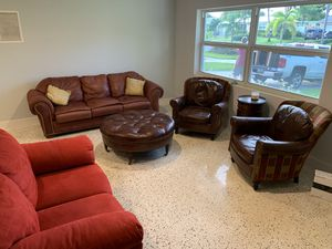 Living Room Furniture (Couch, Love Seat, Chairs) for Sale in North Palm Beach, FL