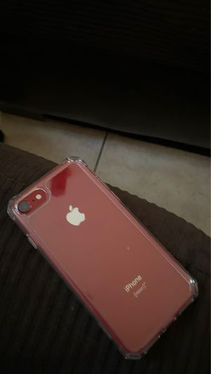 iPhone 8 - red for Sale in Houston, TX