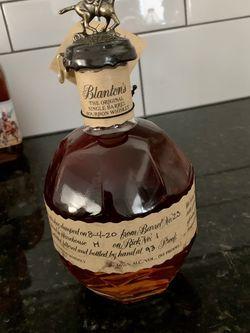 Blantons Bourbon for Sale in San Angelo,  TX