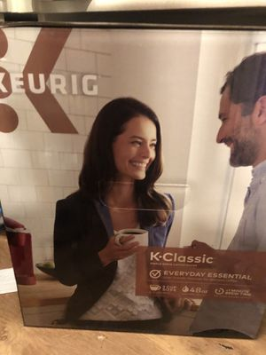 Keurig classic new in box raspberry color for Sale in Irvine, CA