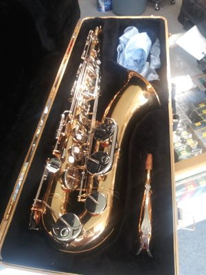 Vito tenor saxophone, Japan. Rare find, new pads, plays wonderfully, excellent condition for Sale in Ocoee, FL
