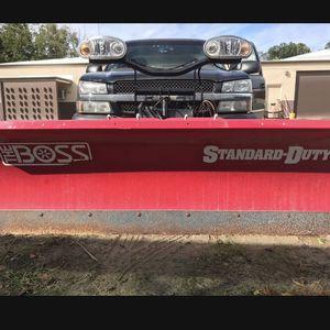 """Boss 7'6"""" Plow for Sale in Joliet, IL"""