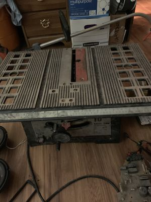 10in table saw p&f ind co for Sale in Marysville, WA