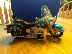 Collectible Buddy L Harley Davidson Softail manufactured 1996 collectible model !! for Sale in Squaw Valley, CA