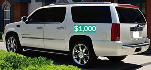🍁URGENT!🍁 🔑🔑$1O00 I Selling 2OO8 Cadillac Escalade ,Very Clean! for Sale in Mesa, AZ