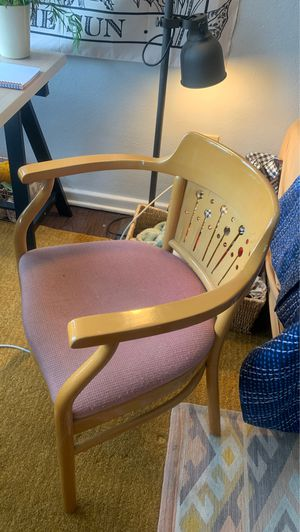 Art deco style vintage dining / desk chair for Sale in Palm Bay, FL