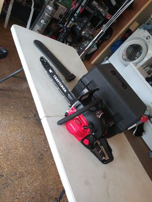 """Craftsman gas chainsaw 18"""" for Sale in Lake Elsinore, CA"""