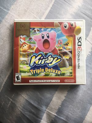 Kirby Triple Deluxe on Nintendo 3DS (👉🏽Check out and follow my page for more games, electronic, collectables, toys and more stuff such as new shoes c for Sale in Baltimore, MD
