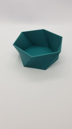 3D Printed Hexagon Dish for Sale in Montgomery, PA