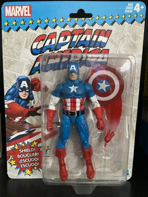 Marvel Legends Retro Collection Captain America for Sale in Los Angeles, CA