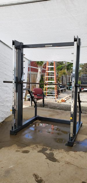 "Gym Equipment. ""MAGNUM SMITH MACHINE. commercial grade. for Sale in Visalia, CA"