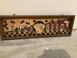 Game room wood sign for Sale in Monument, CO