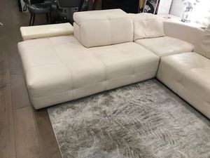 Luxury White Leather Couch for Sale in Daly City, CA
