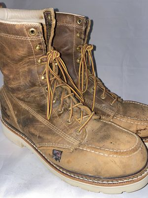 Men preowned Thorogood steel toe boot size 9.5ee for Sale in Chula Vista, CA