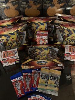 Pokémon Shining Fates/ NFL OPTICS/NBA HOOPS for Sale in Seattle,  WA
