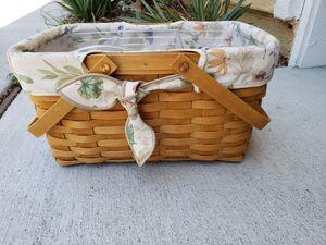 Longaberger picnic basket for Sale in Chula Vista, CA