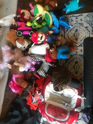 Toys. Build a bears, sonic plushies, and more collectibles. for Sale in Hayward, CA