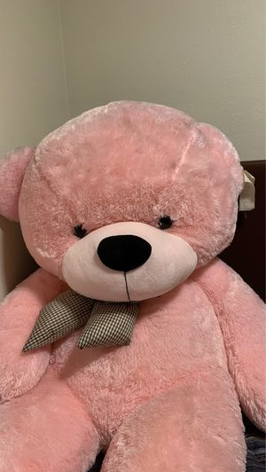 7 Foot Life Size Pink Giant Teddy Bear cuddles- The BIGGEST Teddy Bear!! for Sale in Gresham, OR