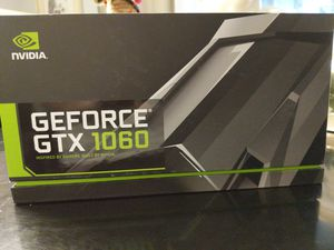 GTX GForce 1060 graphics card Nvidia for Sale in Lake Oswego, OR