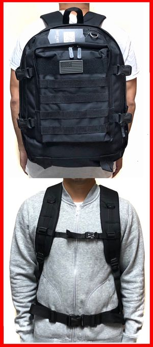 NEW! Tactical military style Backpack molle camping hiking fishing work gym flag school book travel bag for Sale in Carson, CA