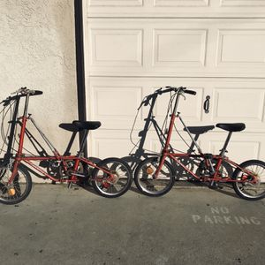 A Pair Of Dahon Getaway V Folding Bikes for Sale in Long Beach, CA
