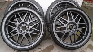 18 inch wheels rims 4x100 4x114.3 for Sale in Fresno, CA