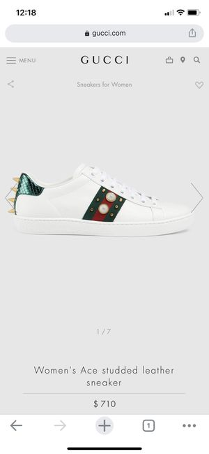 Gucci Ace studded leather sneaker for Sale in Costa Mesa, CA