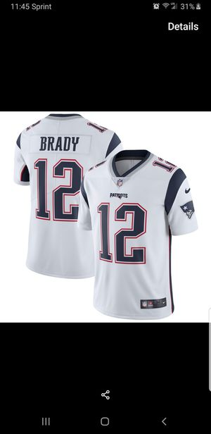 PATRIOTS BRADY JERSEY SIZE SM-2XL 100% STITCHED for Sale in Colton, CA