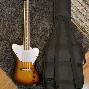 SAVANNAH STB-700F FRETLESS Bass Guitar and Gig Bag for Sale in San Jose, CA