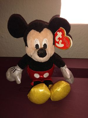 Mickey beanie baby for Sale in Austin, TX