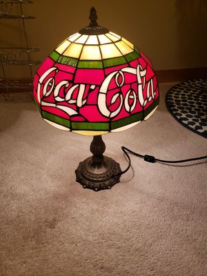 Coca Cola desk lamp for Sale in Edgewood, WA