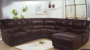 SECTIONAL RECLINING WITH CUPHOLDERS for Sale in Chicago, IL