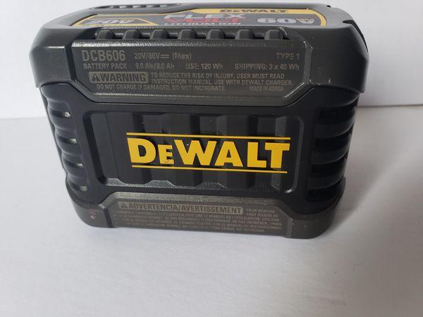 Dewalt 60V Volt MAX FleXvolt Lithium Ion Power Tool Battery