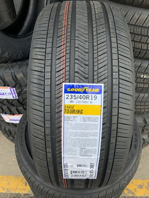 235/40/19 New set of Goodyear tires installed for Sale in Rancho Cucamonga, CA