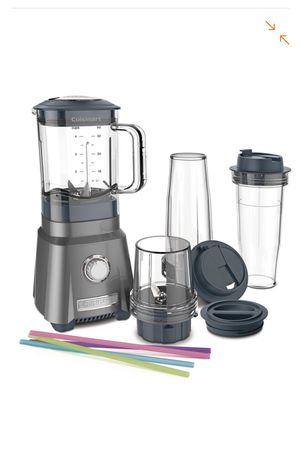 Cuisinart Hurricane 32 oz. 3-Speed Brushed Chrome Compact Juicing Blender for Sale in Roswell, GA
