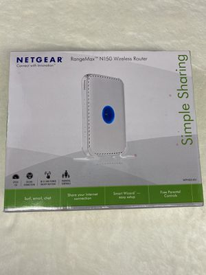 Netgear N150 Wireless Router in very good shape, comes with original packaging and information. for Sale in Mason, OH
