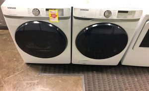 Samsung Front Load Washer/Dryer Set QCHC for Sale in Plano, TX