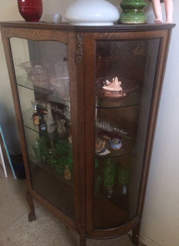 Curio cabinet antique