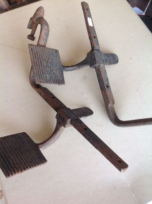 Antique cast iron buggy or wagon steps for Sale in Mesa, AZ