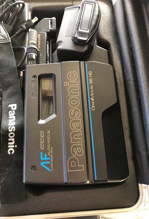 Vintage Panasonic VHS movie camera all in tacked. for Sale in Morgantown, WV