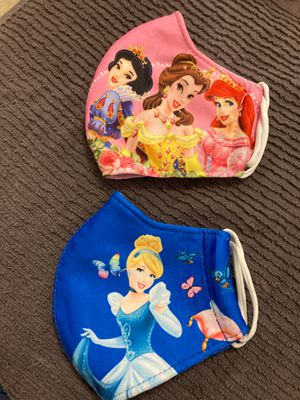 Face mask disney both for $12 for Sale in Miami, FL