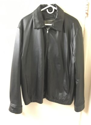 Xld large leather coat . for Sale in Fort Washington, MD