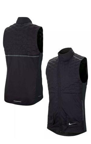 Nike Men's Aeroloft Running Vest SZ Medium Black/Silver BV4862-010 NWT MSRP $180 for Sale in Austell, GA