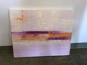 Abstract PINK art NURSERY CUTE for Sale in Dallas, TX