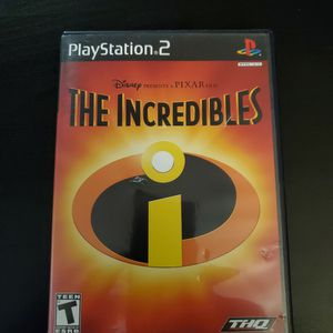 The Incredibles PlayStation 2 PS2 for Sale in Mesa, AZ