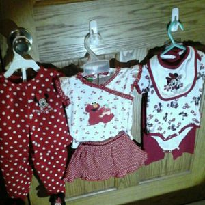 Minnie Mouse &Elmo Outfits for Sale in Perryopolis, PA