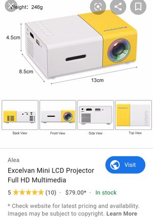 Excelvan Home Mini Projector for Sale in San Diego, CA