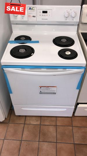 FIRST COME!!CONTACT TODAY! Electric Stove Oven Frigidaire White #1501 for Sale in Aspen Hill, MD