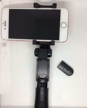 Selfie stick & Tripod control connects with Bluetooth for $15 for Sale in Moreno Valley, CA